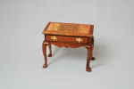 173. Chess Table with Cabriole Legs